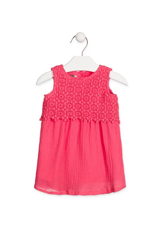 Платье (c вязаной вставкой) LOSAN