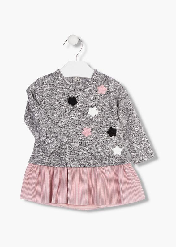 Платье (с плиссированной юбкой )  LOSAN