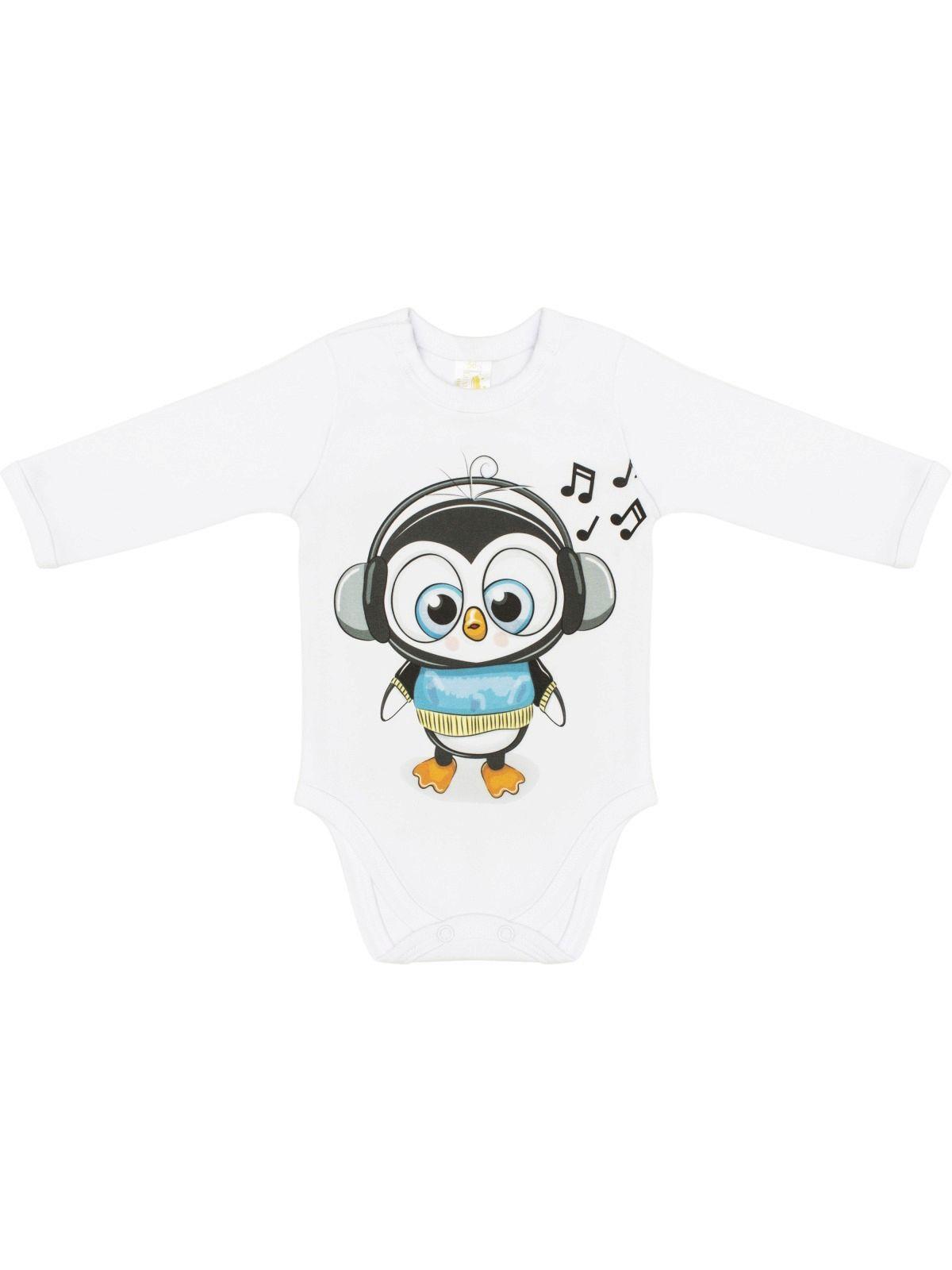 "Боди ""Пингвинёнок"", LUXURY BABY"