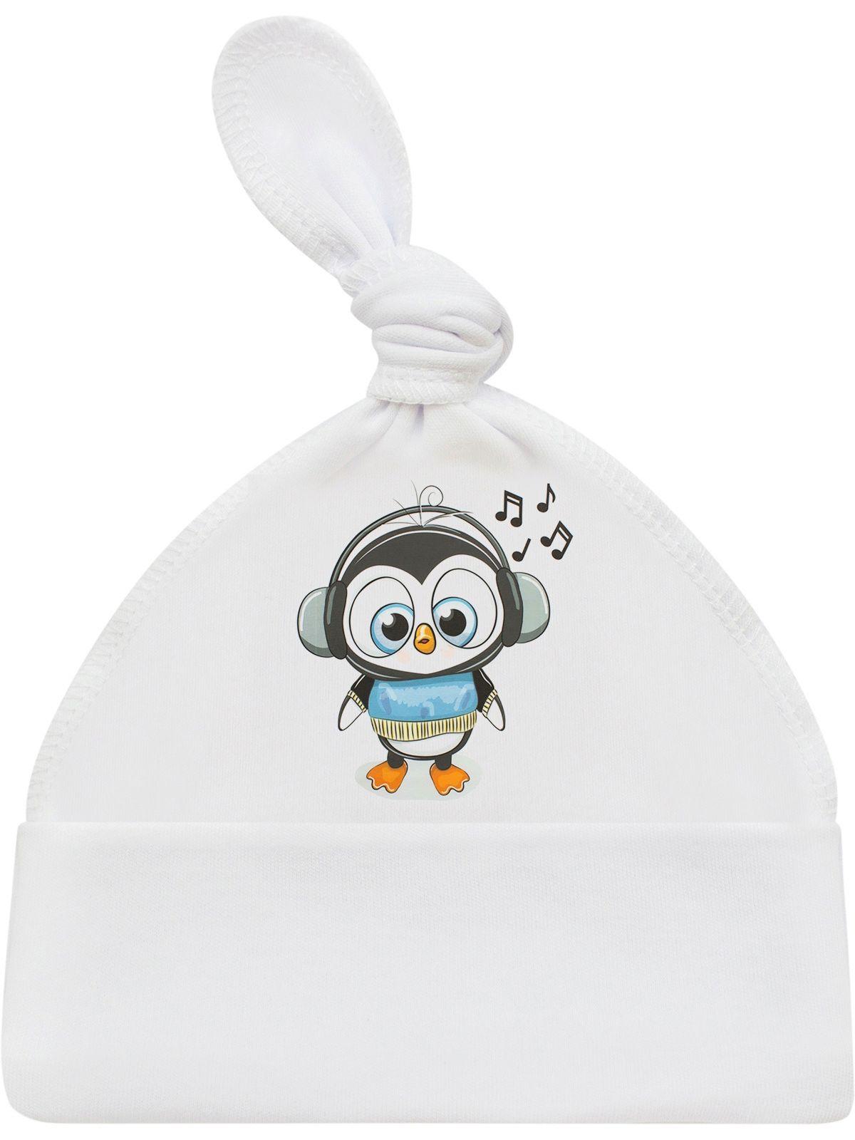 """Шапочка """"Пингвинёнок"""", LUXURY BABY"""