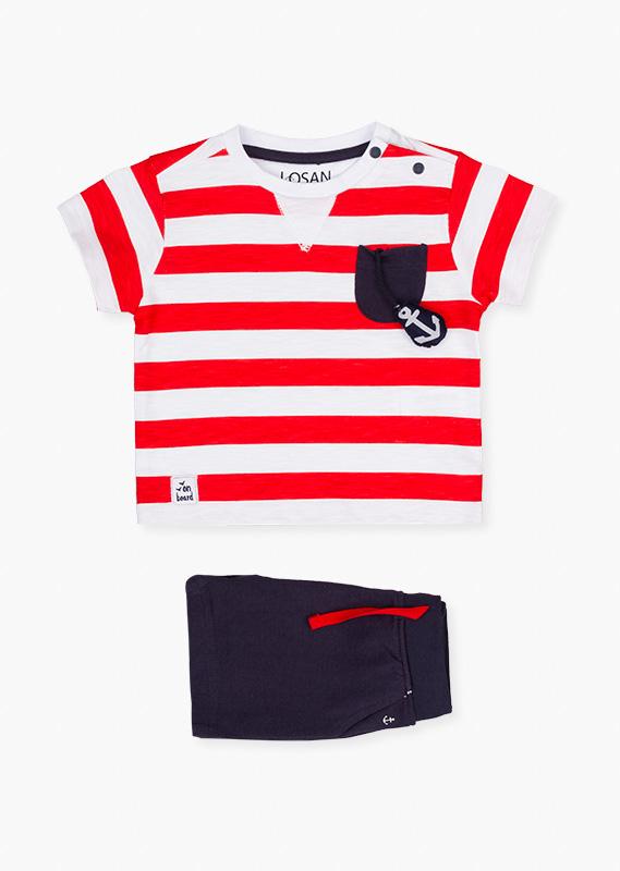 Сет (футболка + шорты Mariniere) LOSAN