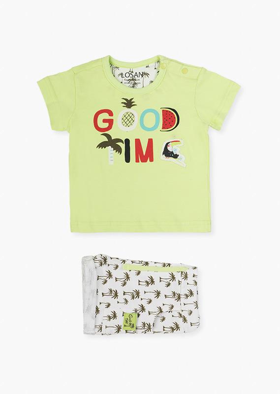 Сет (футболка + шорты Пальмы) LOSAN