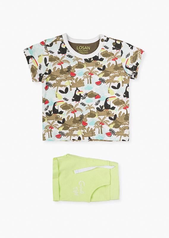 Сет (футболка + шорты Туканы) LOSAN