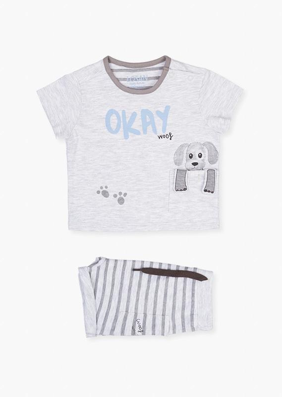 Сет (футболка + шорты Пёсик) LOSAN
