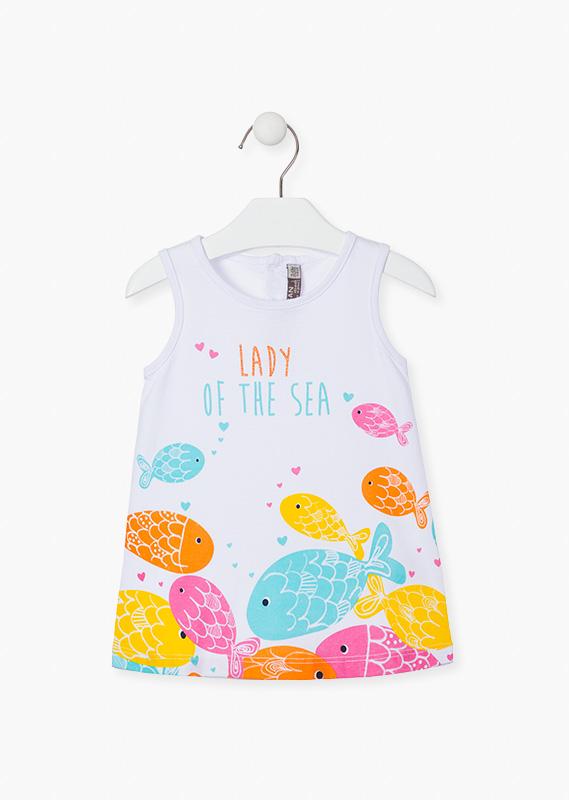 Платье (c рыбками) LOSAN