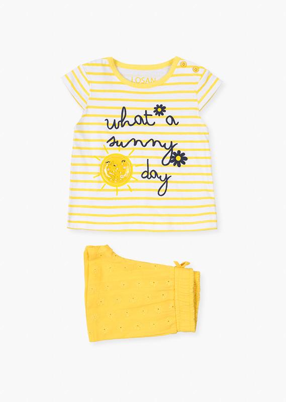 Костюм (футболка и шорты Sunny Day) LOSAN